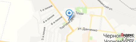 Велостарт на карте Ильичёвска