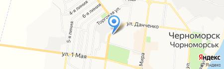 Ceragem на карте Ильичёвска