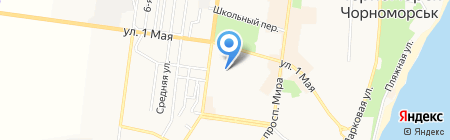 Детский сад №12 на карте Ильичёвска