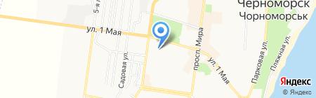 Креатив-ЛТД на карте Ильичёвска