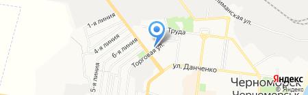 Зелений світ на карте Ильичёвска