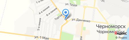 У Наташи на карте Ильичёвска
