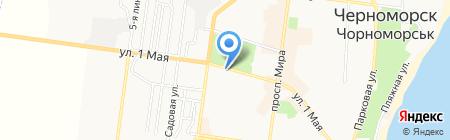 Пивной дом на карте Ильичёвска