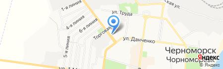 Мастерская по ремонту часов на карте Ильичёвска