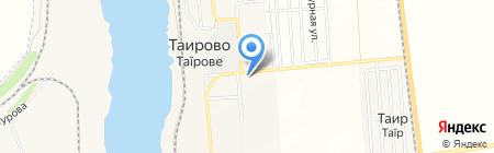 АБ Південний на карте Таирово