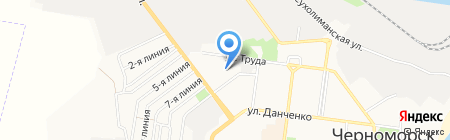 Тайсон Клининг Компани ЧП на карте Ильичёвска