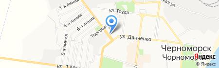 ТопКровля на карте Ильичёвска