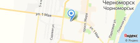 Фантазия на карте Ильичёвска