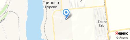 Журавлик на карте Таирово