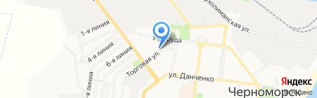 Два капитана на карте Ильичёвска