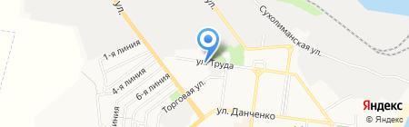Полиграф на карте Ильичёвска