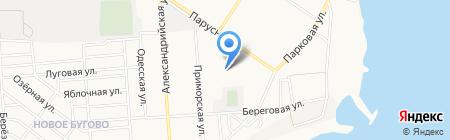 Аптека №1 на карте Ильичёвска