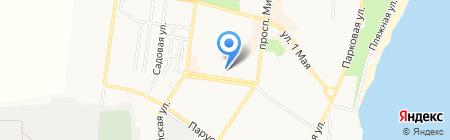 КБ ПриватБанк на карте Ильичёвска