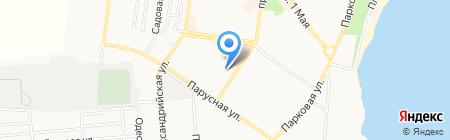 УкрСиббанк на карте Ильичёвска