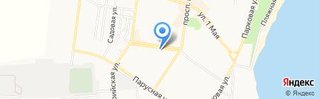 Ювелир на карте Ильичёвска