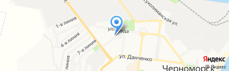 Утренний рынок на карте Ильичёвска