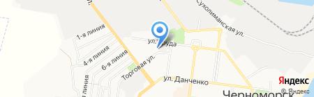 Мастерская по изготовлению ключей на карте Ильичёвска