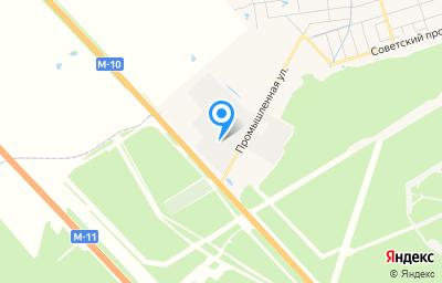 Местоположение на карте пункта техосмотра по адресу Ленинградская обл, Тосненский р-н, гп Красный Бор, ул Промышленная, д 3, пом 1