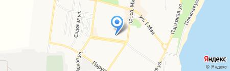 Социальная сеть здоровья на карте Ильичёвска