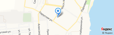 Кабрио на карте Ильичёвска