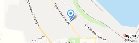 Транспортный-2 на карте Ильичёвска