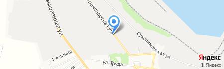 Автобаза на карте Ильичёвска