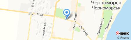 Магазин электроинструмента на карте Ильичёвска