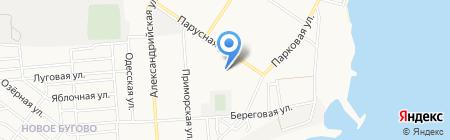 Наша ряба на карте Ильичёвска