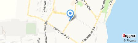 Киоск по продаже овощей на карте Ильичёвска
