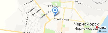 Ильичёвский городской военный комиссариат на карте Ильичёвска