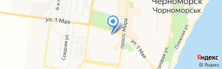 Інтер пол на карте Ильичёвска