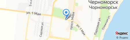 Life на карте Ильичёвска