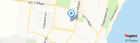 Центр эколого-натуралистического творчества учащейся молодежи на карте Ильичёвска