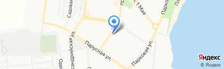 Уютстрой на карте Ильичёвска