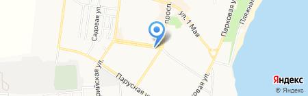 Бамбино на карте Ильичёвска