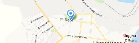 Ильичёвское телевидение-3 на карте Ильичёвска