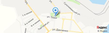 Церковная лавка на карте Ильичёвска