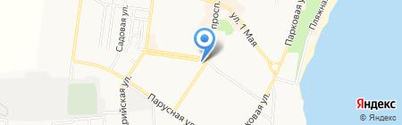 Банк Київська Русь на карте Ильичёвска