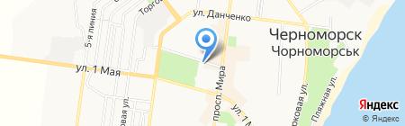 Лікарські рослини на карте Ильичёвска