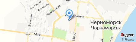 Пекинская утка на карте Ильичёвска