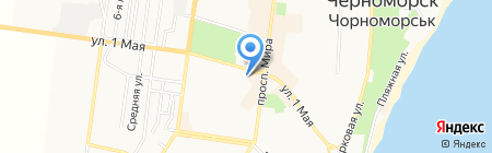 Центр домофонизации на карте Ильичёвска