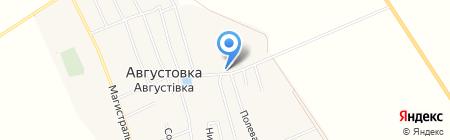 Продуктовый магазин на карте Августовки