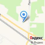 Микка на карте Санкт-Петербурга