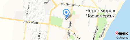 Сота на карте Ильичёвска