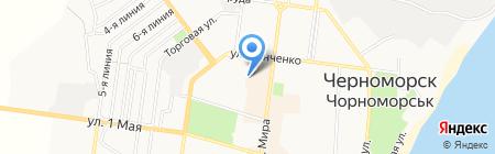 Для Вас на карте Ильичёвска