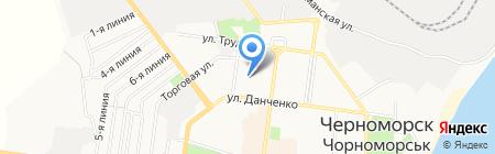 Аудит-Экспресс на карте Ильичёвска