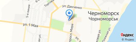Магазинчик на карте Ильичёвска
