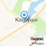 Колтуши Фарм на карте Санкт-Петербурга