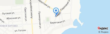 АПВС на карте Ильичёвска