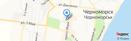 Faber на карте Ильичёвска